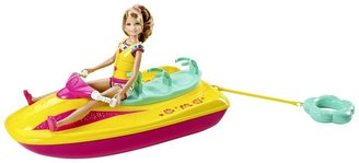 Mattel Barbie Sisters Wave Ride Jet Ski by