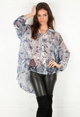 Style Stalker September Shirt in September Print -