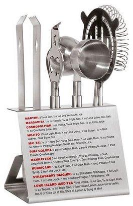 Oggi 5-pc. stainless steel recipe bar tool set