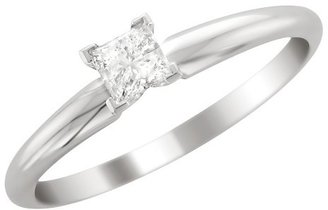 Diamond 3/4 CT.T.W. Solitaire Ring in 14K White Gold - In Assorted Sizes