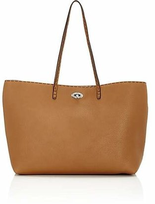 Fendi Women's Selleria Leather Turn-Lock Tote - Moou, desert