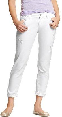 Old Navy Women's Cropped Skinny Boyfriend Jeans