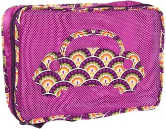 Vera Bradley Luggage - Small Packing Cube (Plum Crazy) - Bags and Luggage