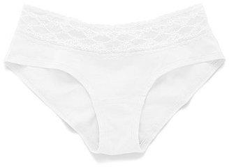 Victoria's Secret Cotton Lingerie Lace-waist Hiphugger Panty