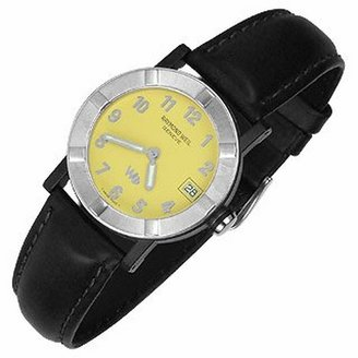 Raymond Weil Parsifal W1 - Women's Yellow Stainless Steel & Leather Date Watch