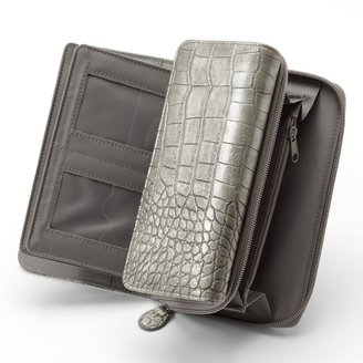 Croft & Barrow Crocodile Organizer Clutch
