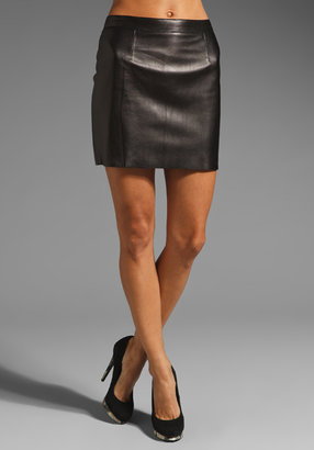 Susana Monaco Leather Mini