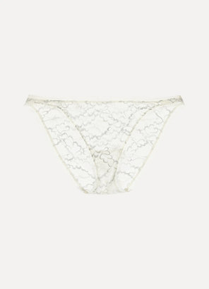 Eres Allegorie Prolixe Stretch-lace Briefs - Cream