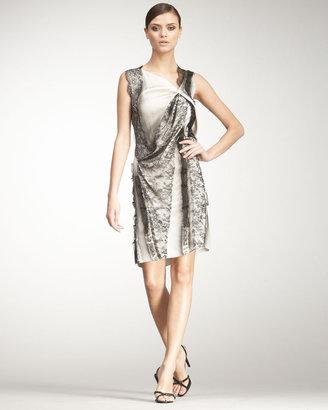 Bottega Veneta Sleeveless Lace Dress