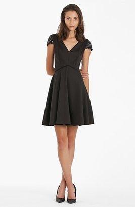 JS Boutique Embellished Fit & Flare Dress