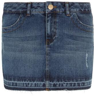 Dorothy Perkins Petite denim mini skirt