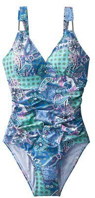 Sara Blakely ASSETS® by Women's 1-Piece Swimsuit - Paisley Print