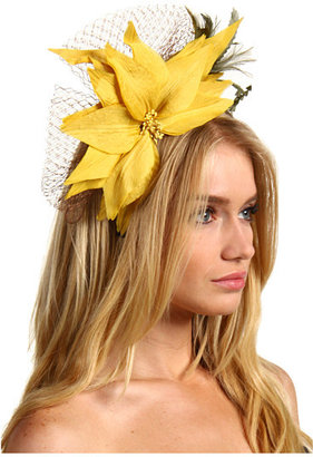 Jane Tran Large Silk Flower Headband with Net