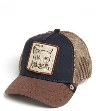 Men's Goorin Brothers 'Animal Farm - Cougar' Trucker Hat - Blue $30 thestylecure.com
