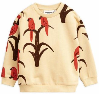Mini Rodini Parrot Organic Cotton Sweatshirt 2-8 Years