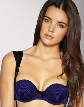 Bordelle Satin Quilted Cup Bra