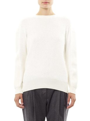 Vanessa Bruno Angora panel sweater