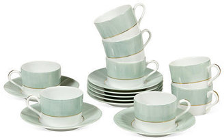 French Limoges Cups & Saucers, Set of 8