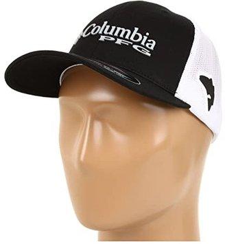 Columbia PFG Meshtm Ball Cap (Black Grey) Caps