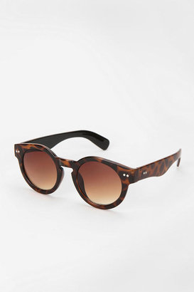 Urban Outfitters Tortoise Shell Round Frame Sunglasses