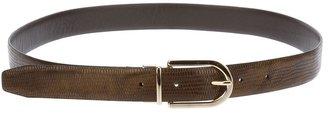 Theyskens' Theory leather belt