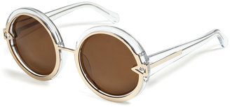 Karen Walker Orbit Sunglasses in Clear