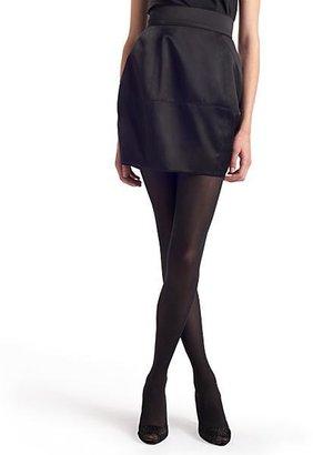 Fendi Satin Cube Skirt