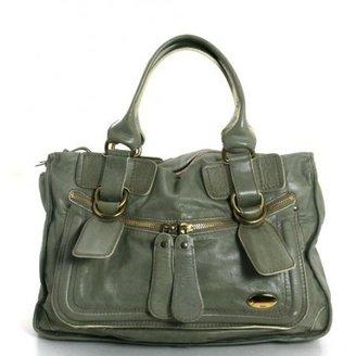 Chloé very good (VG Celadon Green Bay Bag Satchel