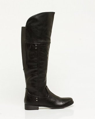 Le Château Faux Leather Over-the-Knee Boot