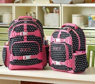 Pottery Barn Kids Mackenzie Black Dot Backpacks