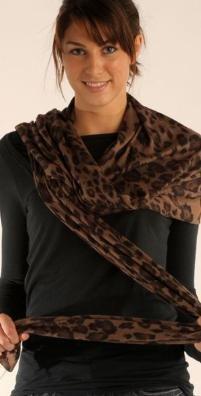 Rebecca Taylor Reb - Leopard Scarf