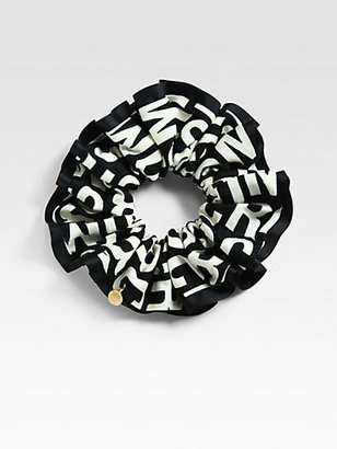 Marc by Marc Jacobs Logo Print Scrunchie