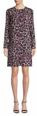 HUGO Long-Sleeve Printed Dress