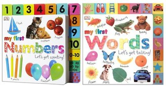 DK Publishing My First Numbers & Words (2 Board Books)