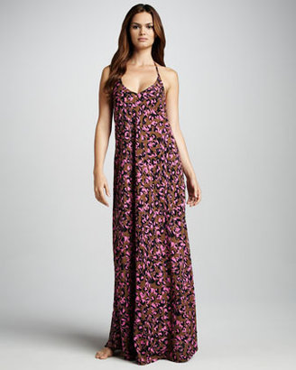 Camilla And Marc Pablo Animal-Print Cover-Up Maxi Dress