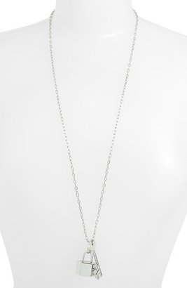 Tory Burch 'Riley' Cluster Pendant Necklace Tory Silver