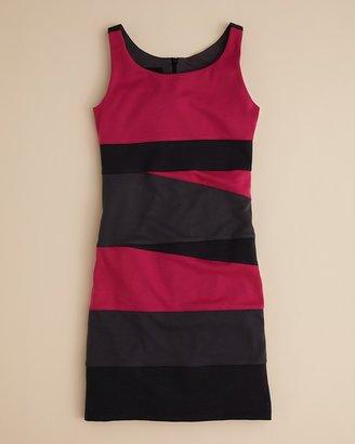 Un Deux Trois Girls' Colorblock Sheath Dress - Sizes 7-16