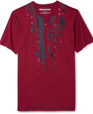 Sean John T-Shirt, The Usual Suspects V-neck T-Shirt