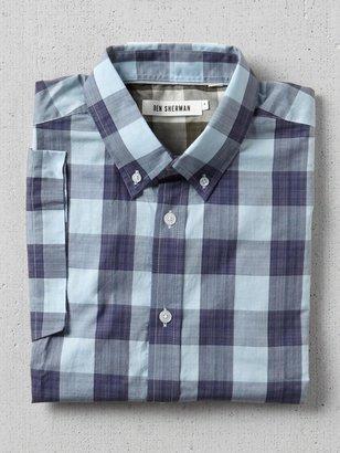 Ben Sherman Short Sleeve Check Woven Shirt