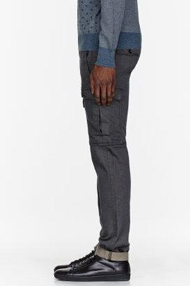 Levi's Charcoal grey Straight cargos