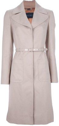 Alberta Ferretti belted coat
