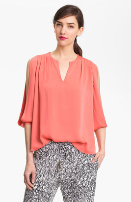 Diane von Furstenberg 'Astor' Cold Shoulder Top