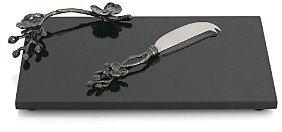 Michael Aram Black Orchid Small Cheeseboard & Knife