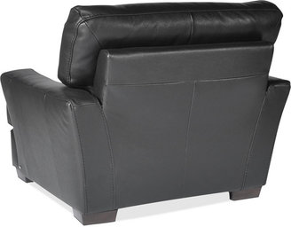 Coby Leather Living Room Chair