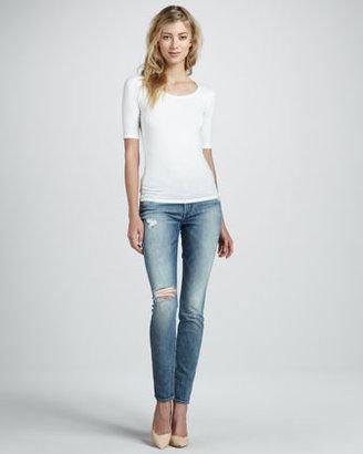 7 For All Mankind Vintage Skinny Jeans