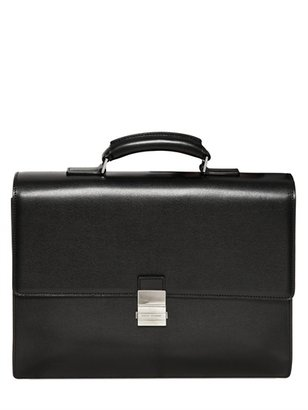 Christian Dior Leather Briefcase