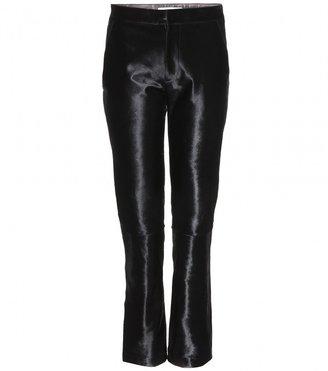 Jil Sander Pablo calf hair trousers