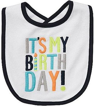 Carter's Birthday Bib