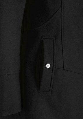 Diagonal Alley Coat in Black