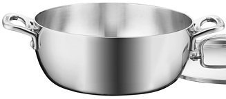 Cuisinart French Classic Tri-Ply Stainless Steel 4.5 Qt. Covered Dutch Oven